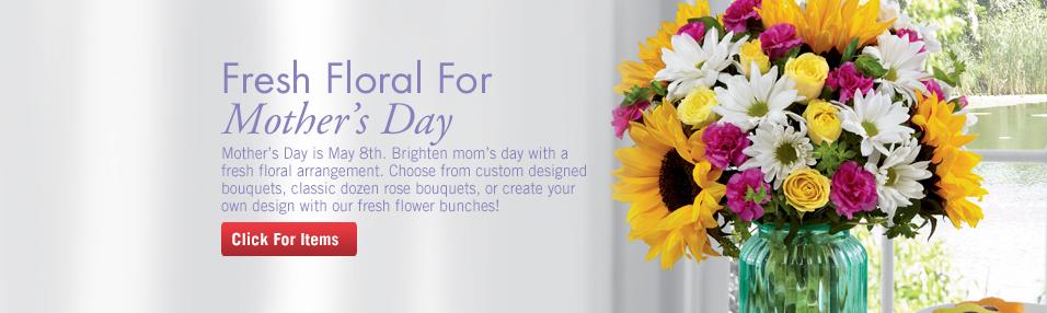 Fresh Flowers for Mom