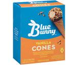 Blue Bunny Mini Ice Cream Cones