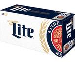Budweiser, Coors Light or Miller Lite 18 Pack