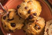 Cranberry Infused White Tea Scones