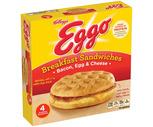 Eggo or Special K Breakfast Sandwiches