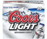 Budweiser, Miller Lite, Michelob Ultra or Coors Light 30 Pack