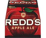 Redd's Apple Ale or Magic Hat 12 Pack or Shock-Top 15 Pack