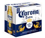 Corona Extra or Stella Artois 12 Pack