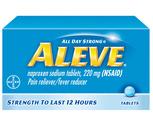 Aleve Tablets or Caplets