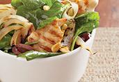 Grilled Chicken Wilted Salad