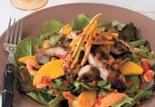 Jamaican Jerk Catfish Salad
