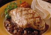Chicken with California Raisin Mole