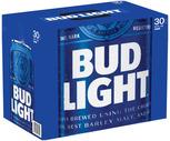 Bud Light, Coors Light or Miller Lite 30 Pack