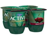 Dannon Activia Yogurt 4 Pack