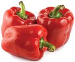 Fresh Crisp Red Peppers