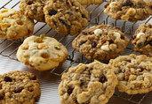 Bourbon, Pecan-Praline, Oatmeal Raisin Cookies