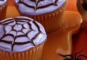 Sweet Spider Cakes