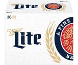 Miller Lite or Labatt Blue 30 Pack