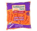 Fresh Organic Mini Peeled Carrots 1 Lb. Bag