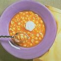 Acorn Squash n Pasta Soup