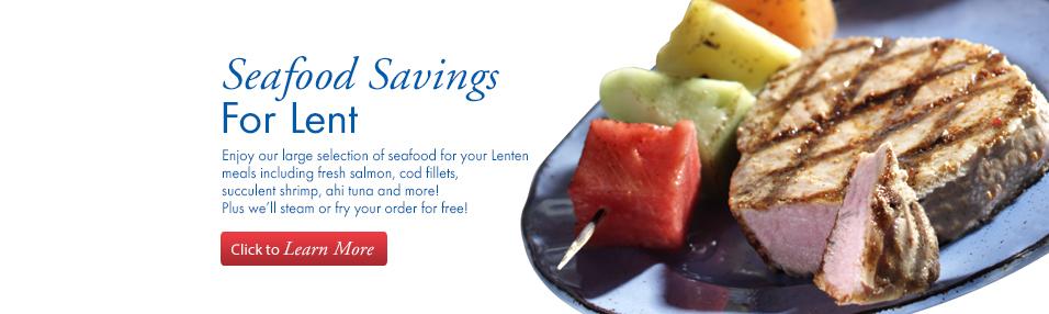 Seafood Savings