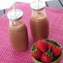 Strawberry - Chocolate Fake Shake