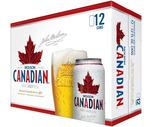 Molson Canadian or Labatt Blue 12 Pack