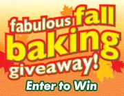 Fabulous Fall Baking Sweeps