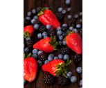 Fresh Blueberries or Blackberries 6 oz.