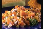 Santa Fe Sweet Potato Corn Salad