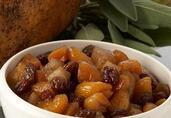 Spiced Pear and Raisin Chutney