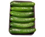 Fresh Organic Mini Cucumbers 6 Ct.