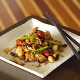Vietnamese Stir-fried Chicken with Nuts and California Raisins