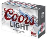 Miller Lite or Coors Light 24 Pack