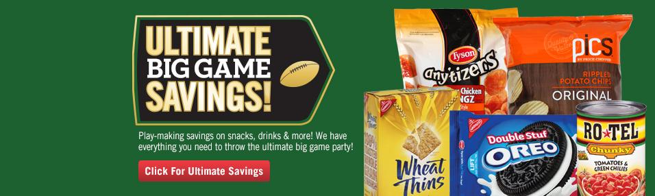 Ultimate Big Game Savings