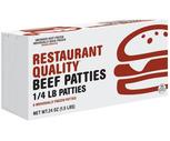 Holten Quarter Pound Restaurant Quality Beef Patties