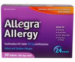 Allegra 24 Hour Tablets