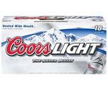 Budweiser, Bud Light, Miller Lite or Coors Light 18 Pack