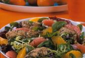 Caribbean Chicken and Citrus Salad