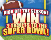 Win a Trip tot the Super Bowl