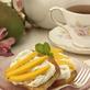 Mango Shortcake with Ginger Cream