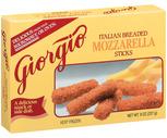 Giorgio Breaded Mozzarella Sticks
