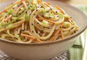 Sesame Peanut Noodle Bowl