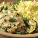 Chicken with Sugar Snap Peas & Spring Herbs