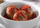 Albondigas de Pavo (Spanish Style Turkey Meatballs)