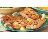 Fresh Farmed Raised Marinated Salmon Portions