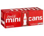 Coca-Cola, Diet Coke or Sprite 10 Pack