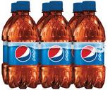 Pepsi, Mtn Dew or Schweppes Ginger Ale 6 Pack