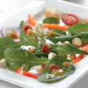 Spinach and Arugula Greek Salad