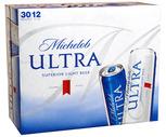Budweiser, Bud Light, Michelob Light or Michelob Ultra 30 Pack