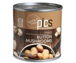 PICS Canned Mushrooms