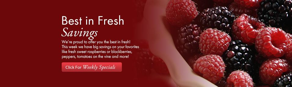 Best in Fresh Savings