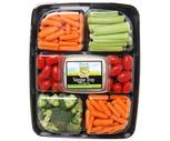 Fresh Vegetable Platter With Hummus or Vegetable Dip