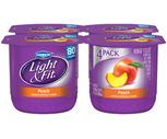 Dannon Light & Fit Yogurt 4 Pack